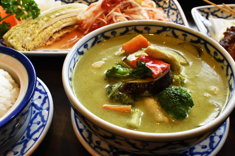 Green Curry in Seoul