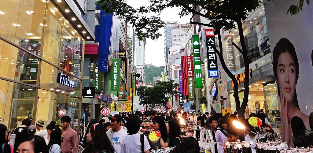 Places to Visit in Seoul Myeongdong