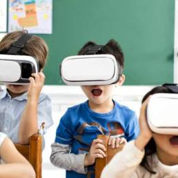 VR English Education in Korea
