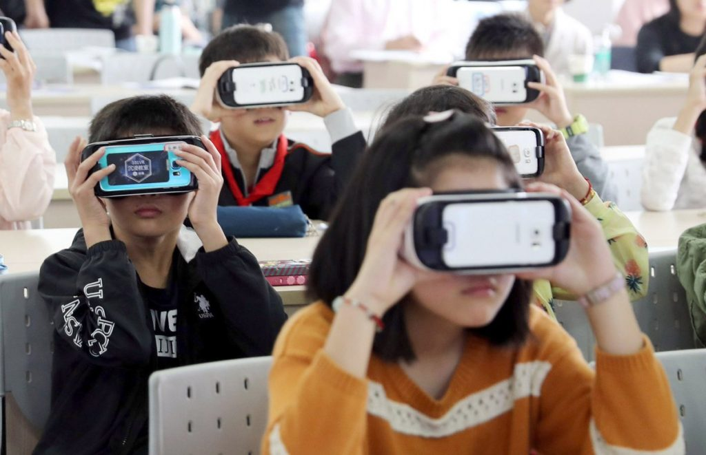 English Education in Korea with VR